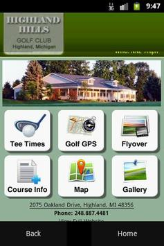 Highland Hills Golf Course poster
