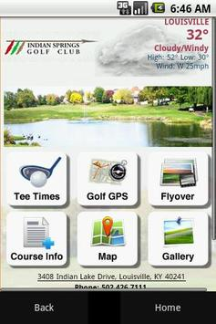Indian Springs Golf Club poster