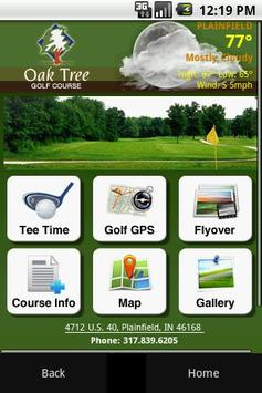 Oak Tree Golf Course poster