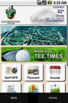 Lockhaven Country Club poster