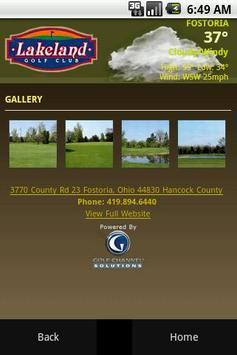 Lakeland Golf Course screenshot 1