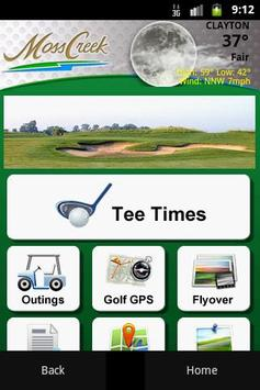 Moss Creek Golf Club poster