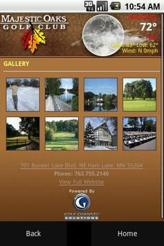 Majestic Oaks Golf Club apk screenshot