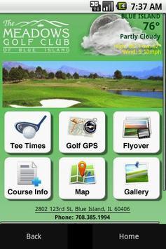 Meadows Golf Club poster