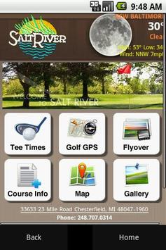 Salt River Golf Club poster