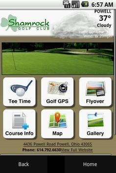 Shamrock Golf Club poster