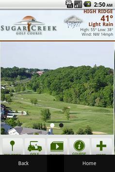 Ssugar Creek Golf Course poster