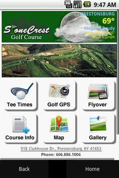 StoneCrest Golf Course poster