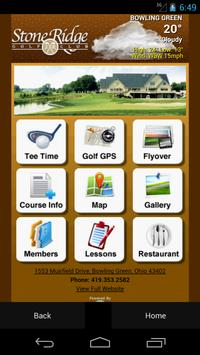 Stone Ridge Golf Club poster