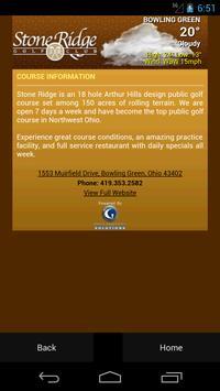 Stone Ridge Golf Club apk screenshot