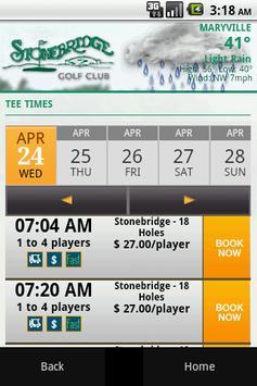 Stonebridge Golf Club apk screenshot