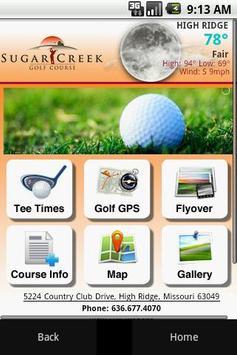 Sugar Creek Golf Course poster