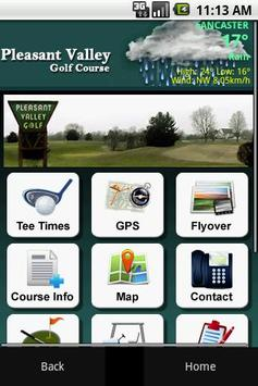 Pleasant Valley Golf Course poster