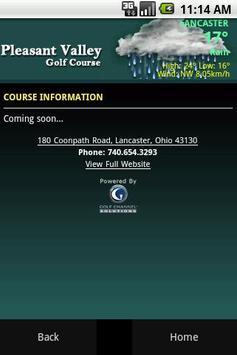 Pleasant Valley Golf Course apk screenshot