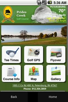 Prides Creek Golf Course poster