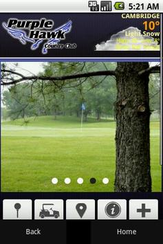 Purple Hawk Country Club poster