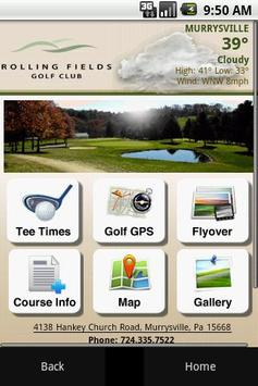 Rolling Fields Golf Club poster