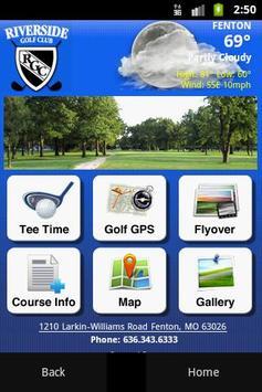 Riverside Golf Club poster