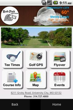 Ruth Park Golf Course poster