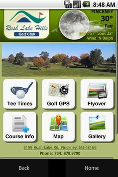 Rush Lake Hills Golf Club poster