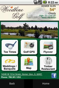 Woodbine Golf Course poster