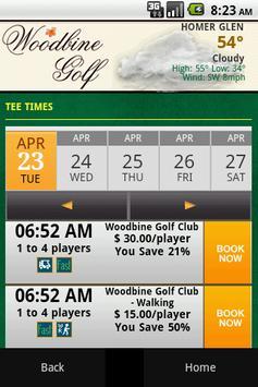 Woodbine Golf Course apk screenshot