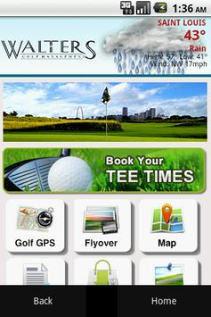 Walters Golf Management poster