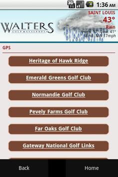 Walters Golf Management apk screenshot