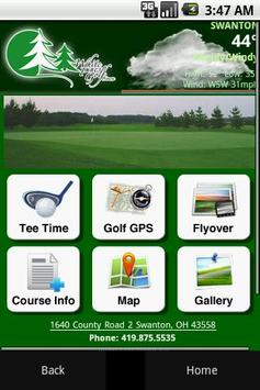 White Pines Golf Course poster
