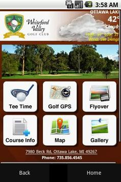 Whiteford Valley Golf Club poster