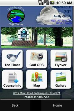 Winding River Golf Course poster