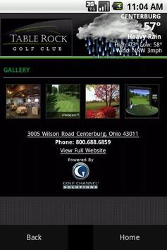 Table Rock Golf Club apk screenshot