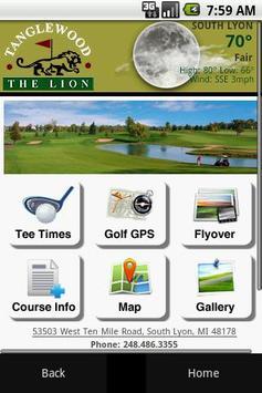 Tanglewood Golf Club poster