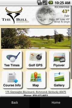 The Bull at Boone's Trace Golf poster