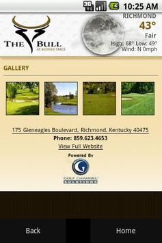 The Bull at Boone's Trace Golf apk screenshot
