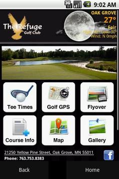 The Refuge Golf Club poster