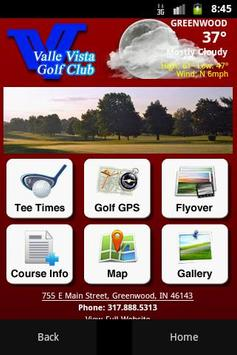 Valle Vista Golf Club poster
