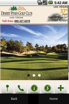 Desert Pines Golf Club poster