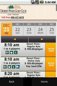 Desert Pines Golf Club apk screenshot