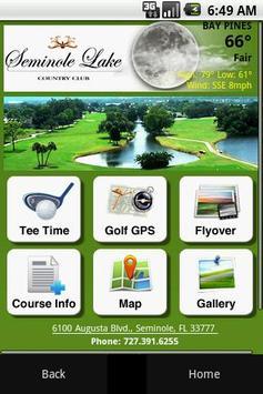 Seminole Lake Country Club poster
