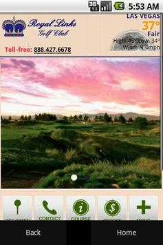 Royal Links Golf Club poster
