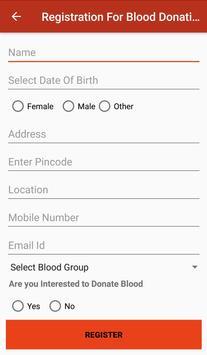 Blood Finder screenshot 1