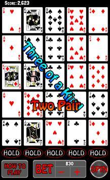 Poker Slots - Real Cards screenshot 3