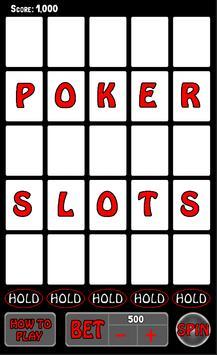 Poker Slots - Real Cards screenshot 2