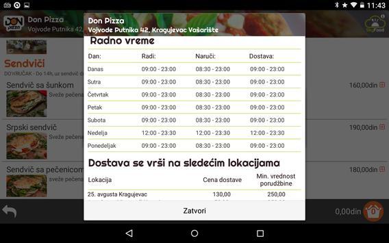Don Pizza - Kragujevac, Srbija screenshot 18