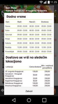 Don Pizza - Kragujevac, Srbija screenshot 4