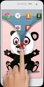 Panda Zipper Lock apk screenshot
