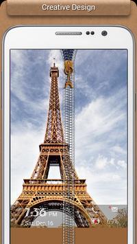 Paris Zipper Lock apk screenshot