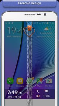 Transparent Zipper Lock screenshot 1