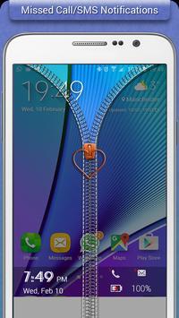 Transparent Zipper Lock screenshot 2